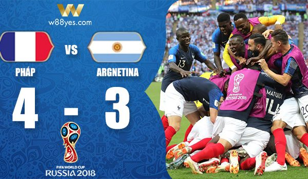 ket qua world cup 2018 Phap vs Argentina